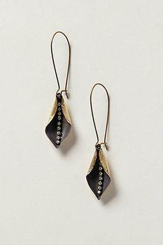 Fun earrings - Petal Plunge Earrings from Anthropologie