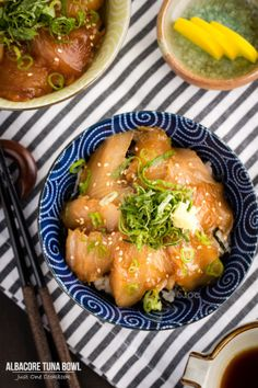 Albacore Tuna Bowl | Easy Japanese Recipes at JustOneCookbook.com | Follow Nami for more recipes @JustOneCookbook (Nami)