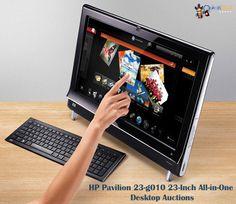 Take the benefits of #HP #desktop computer. bidding starts at o.o1 pound.