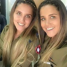 WOMEN OF THE IDF: Twin Beauties in the IDF