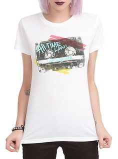 All Time Low Cassette Girls T-Shirt | Hot Topic