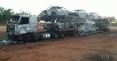 PF investiga incêndio de oito carros do Ibama no Sudoeste do Pará