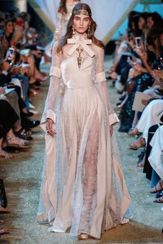 Elie Saab Fall 2017 Couture: Joan Smalls