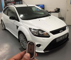 Ford Focus RS - SecureMyCar FORD Viper security upgrade package with OBD port immobiliser and LCD upgrade remote. http://ift.tt/1Rs1Gez #FordFocusRS #stolenFord #Viper #ViperCarAlarm #ViperSmartStart #remoteStart #OBDPortImmobiliser #keycloningprevention #VehicleTracking #ViperSecurity #CarSecurity #securemycarltd