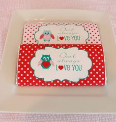 printabl candi, chocolate bars, valentine day, candy bar wrappers, owl