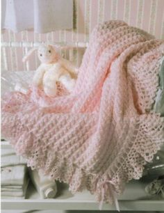 lacy crochet afghans | ... Crochet Patterns Afghans Blankets New Book Best Terry Kimbrough Lace