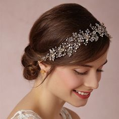 2016 Bridal Hair Trends New Trend Hair Jewelry Queen Crown Tiaras Wedding Bridal Bridesmaid Headband Rhinestone Hair Accessories Ms Prom Jewelry Bridal Headpieces