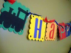 Choo Choo Train Birthday Party +