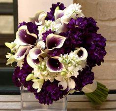 Dark Purple Flowers For Wedding | Unique Wedding Gallery