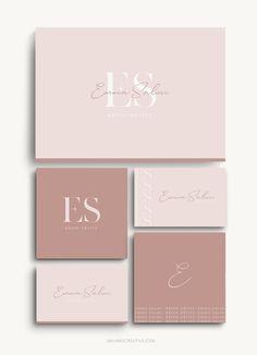 Brand Identity Design, Corporate Design, Business Card Design, Corporate Branding, Luxury Branding, Luxury Logo Design, Best Logo Design, Logo Inspiration, Schönheitssalon Design