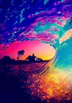 Beautiful.  Inside the wave.