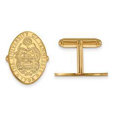 14ky LogoArt University of Tennessee Crest Cuff Link