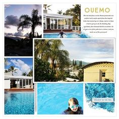 Noumea: Ouemo, Using Perfect Panorama template album from Lynn Grieveson at The Lilypad