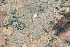 Medina, Saudi Arabia : Image of the Day : NASA Earth Observatory