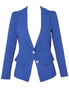 BESTSELLER! Banana Flame Fitted Blazer in a Structured Linen $22.99