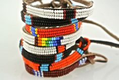 Massai bracelets straight from Kenya