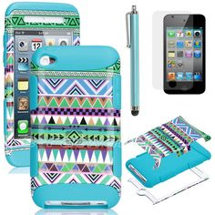 Green/Blue Tribal Case for iPod Touch 5