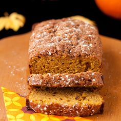BEST Pumpkin Cream Cheese Bread 7