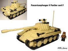 Panther ausf F schmalturm KwK 43 L/71 WWII LEGO   by MR. Jens