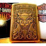 Rare+Zippo+Lighters | RARE 1993 VINTAGE HARLEY DAVIDSON ZIPPO LIGHTER MIB