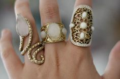 I need more than 10 fingers.. I want to wear all my rings..all the time