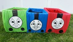The COOLEST party trains for a birthday party. <3 Created by @Little Miss Kate!