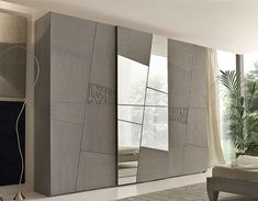 Sliding Wardrobe Doors Give Contemporary Look To Your Bedroom Wardrobe Interior Design, Wardrobe Design Bedroom, Master Bedroom Interior, Apartment Bedroom Decor, Bedroom Bed Design, Bedroom Furniture Design, Modern Bedroom Design, Home Room Design, Furniture Layout