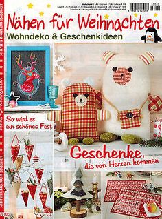 Sabrina Nähen für Weihnachten Wohndeko Geschenkideen