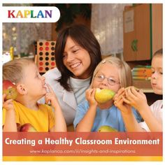 "Cater to every student's needs by creating, developing, and maintaining a healthy environment in the classroom! Find out how to with these easy tips from ""A Room to Learn"": http://buff.ly/1vwg6E0"
