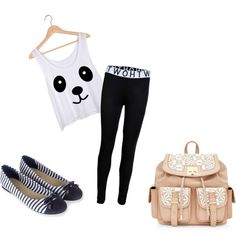 moda juvenil by gutierrezvictoria on Polyvore featuring moda and Accessorize