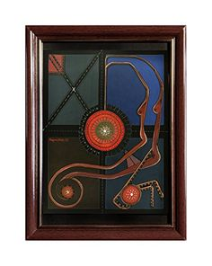 "EINGERAHMTER KUNSTDRUCK ""OCTOPUS"" MARACHOWSKA ART MARACHOWSKA ART http://www.marachowska.com/"