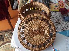 Поделка изделие Плетение Плетеные коробочки по мотивам сказок Ильфата Трубочки бумажные фото 17
