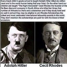 In my AP world history class we were taught that about Cecil Rhodes and none of it was in kind words.