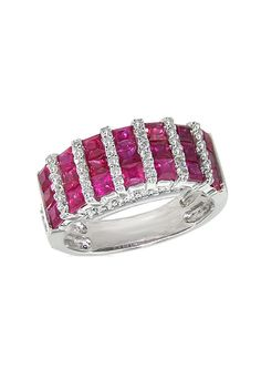 zsazsasitlist:    see details here: Effy Jewelry Ruby and Diamond Ring, 2.45 TCW