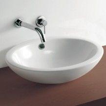 Oval Countertop Basin