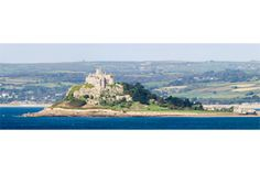 St. Michael's Mount Panorama #photography #gift #canvas #landscape #nature #cornwall