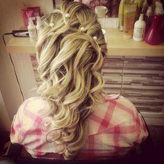 Wedding :) Hairstyle, Long Hair Styles, Wedding, Beauty, Hair Job, Valentines Day Weddings, Hair Style, Long Hairstyle, Hairdos