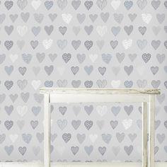 Heart to Heart Wallpaper - Design Kist
