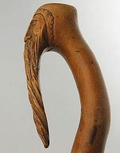 Bearded walking stick
