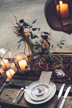 Industrial Bohemian Wedding Inspiration