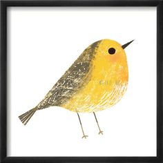 One 4 X 4 Bird Print, ( 6 different birds to choose from ) Bird illustration art print on Etsy, $10.00