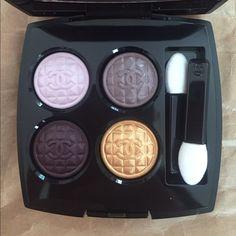 Chanel Limited Edition Eyeshadow Quadra eyeshadow, never used. Limited holiday edition CHANEL Makeup Eyeshadow