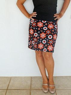Half Hour Free Skirt Pattern | AllFreeSewing.com