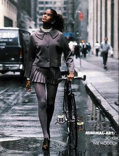 gail o'neil, 1988. look at the expression on her face, she walks there ...