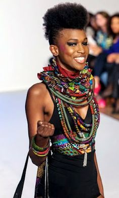 African Prints in Fashion: Prints of the Week: Zankara Creations