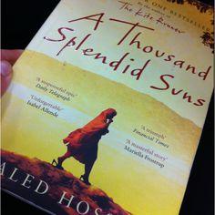 A Thousand Splendid Suns - Khaled Hosseini.