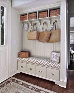 I could probably do this in place of closet that's in my entryway