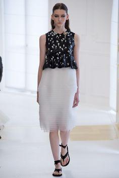 Christian Dior Fall 2016 Couture Fashion Show - Allyson Chalmers