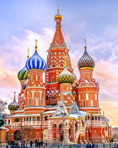 """Stunning. Magnificent. Fascinating. Surreal. Built nearly 600 years ago St. Basils Cathedral is still an icon of #Russia that earns praise from travelers around the world. To see it for yourself book a tour on TripAdvisor  you can even get exclusive early-morning access before the crowds arrive."