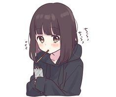 Anime Neko, Cute Anime Chibi, Chica Anime Manga, Cute Anime Pics, Anime Girl Cute, Kawaii Anime Girl, Otaku Anime, Anime Art Girl, Kawaii Chan